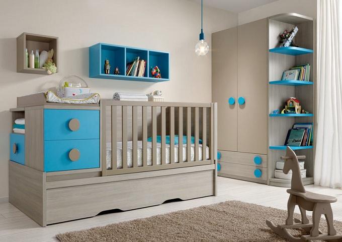 Meuble chambre b b for Petit meuble chambre bebe