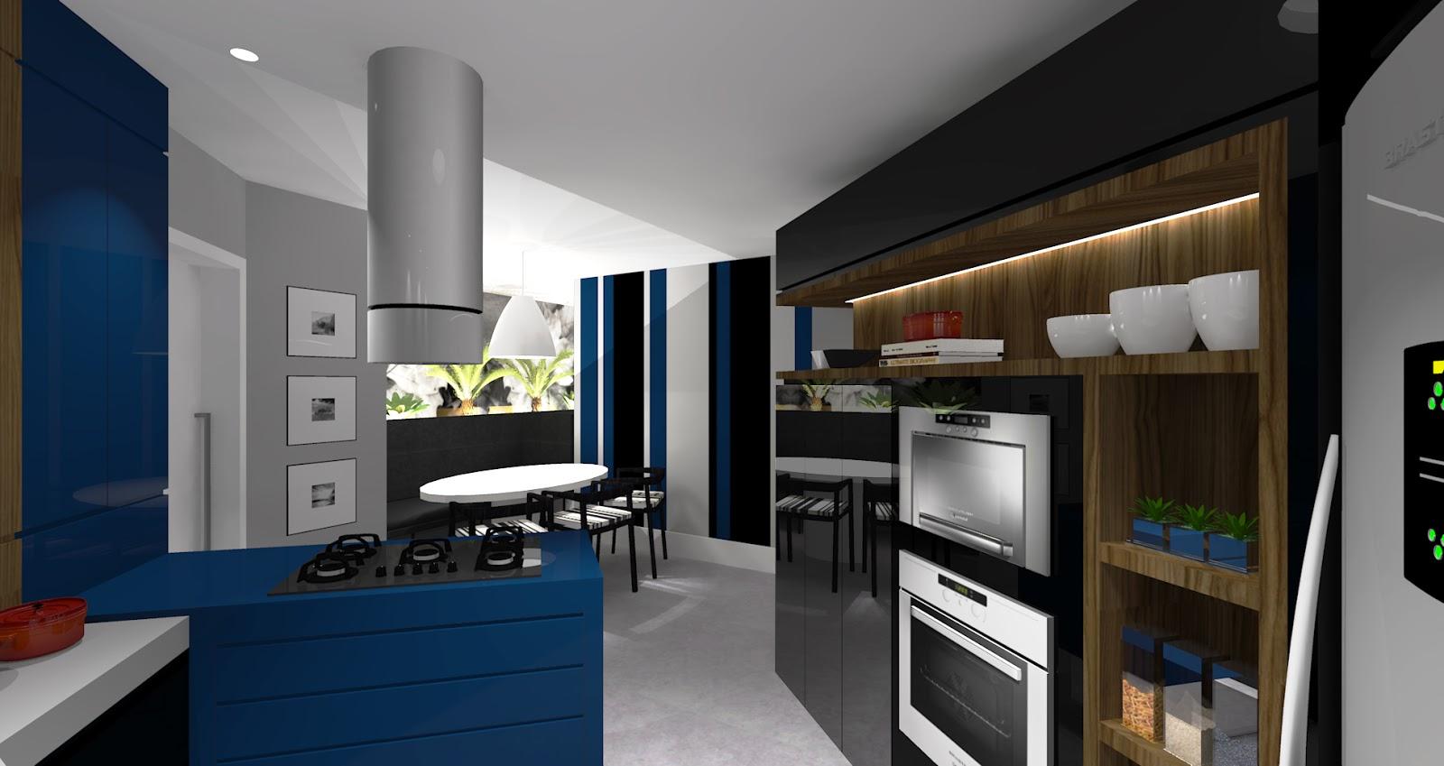 Ilto Gerber: Projeto Interior Cozinha Gourmet #11385A 1600 849