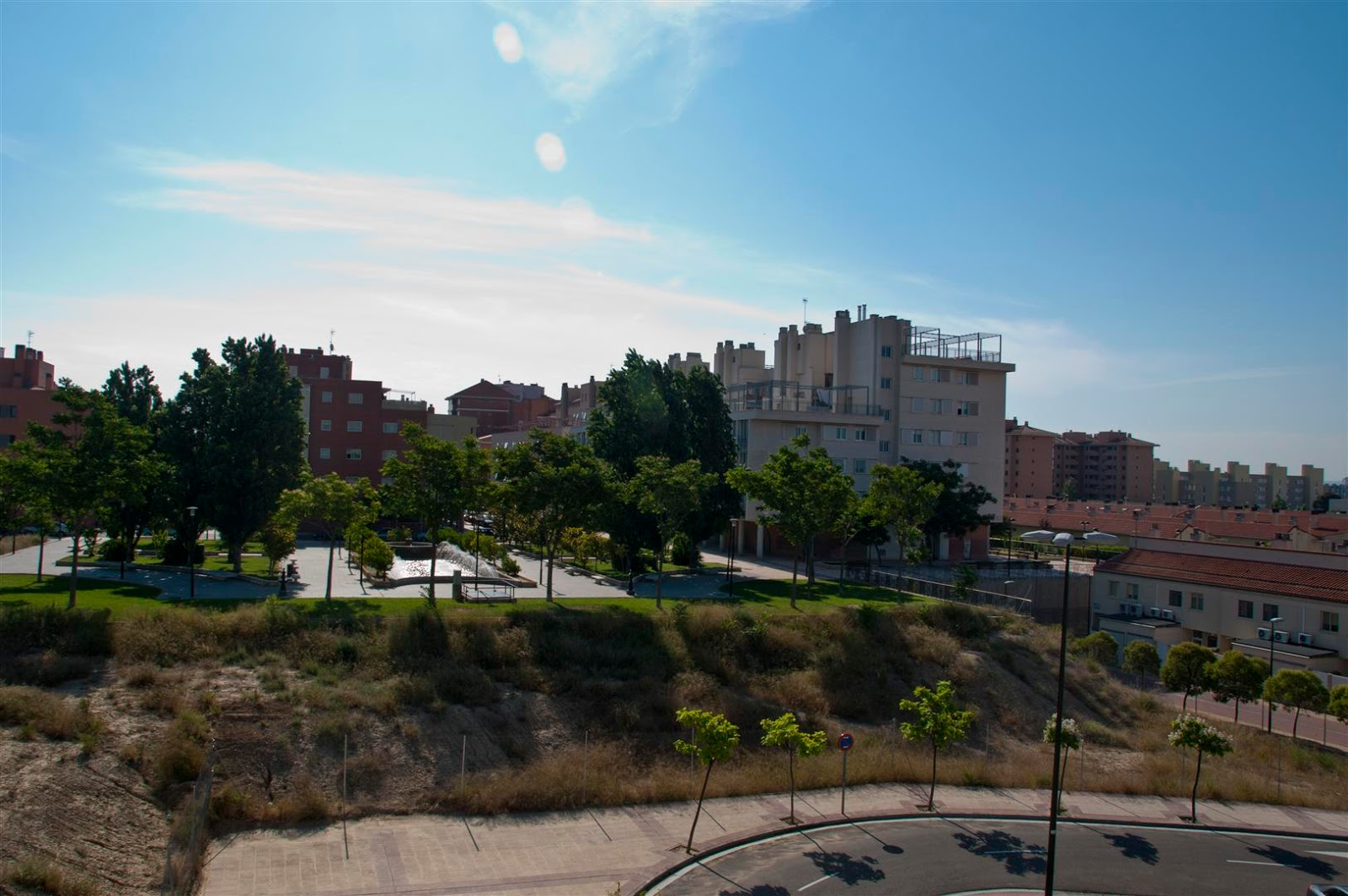 El blog de fernando nueva pasarela entre parque goya i y ii for Pisos parque goya 2