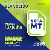 O Nota MT é um programa de incentivo ao exercício da Cidadania Fiscal