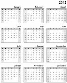 My Calendar of Events