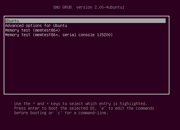 Ubuntu 12.10 Simplifies GRUB Boot Menu