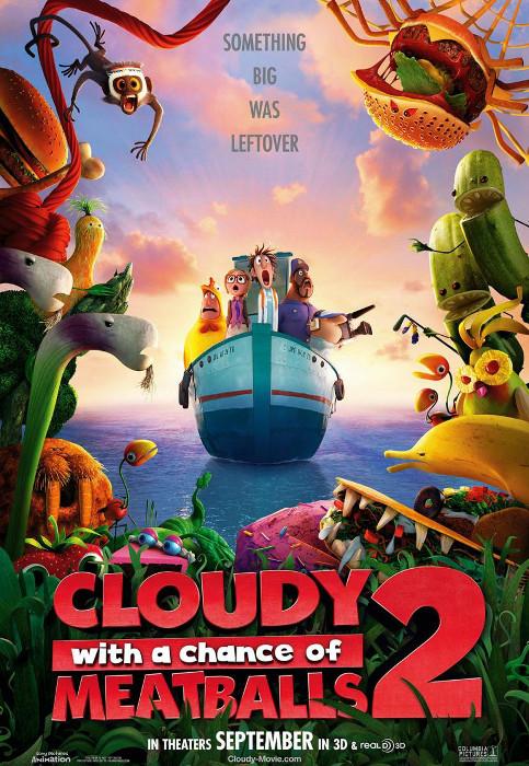 CINE: Lluvia de Albóndigas 2 [Sony Pictures Animation, ESTRENO: 20 Diciembre 2013] POSTER