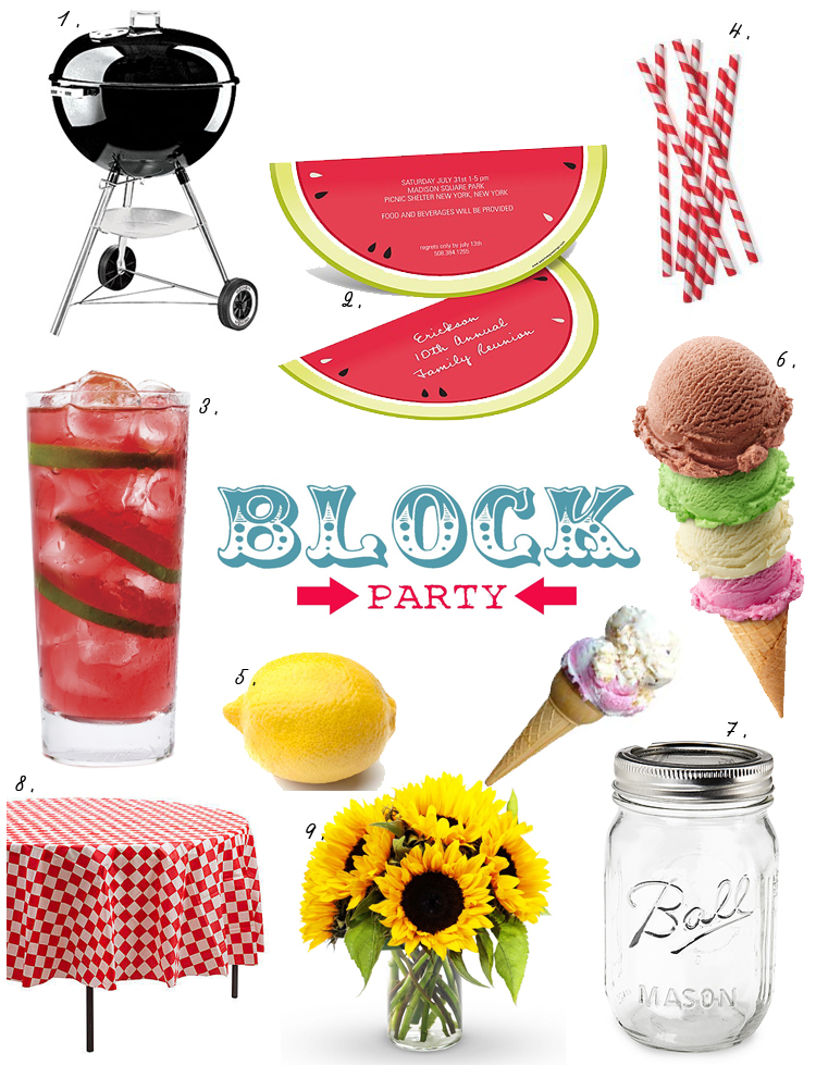 block party, summer, summer block party, party planning, party ideas, pinnacle vodka, decor, home