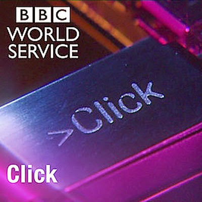 BBC Click (World Service) ident for the Inclusive Accessible Games slot with Ian Hamilton.