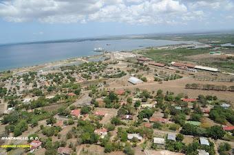 Vista aerea de Manzanillo