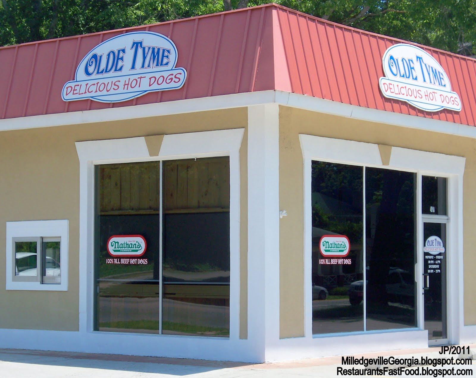 Milledgeville Georgia Gcsu Gmc College Restaurant Menu Attorney Bank