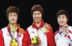女子卓球 銅メダル
