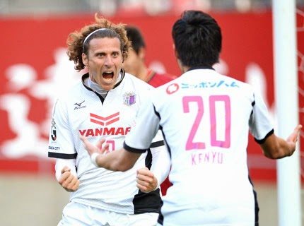 Gol Pertama Diego Forlan di JLeague