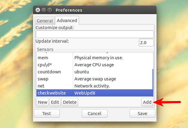 You Can Add As Many Scripts To The Output Want So Your Own Custom Script Next CPU Usage For Instance Etc