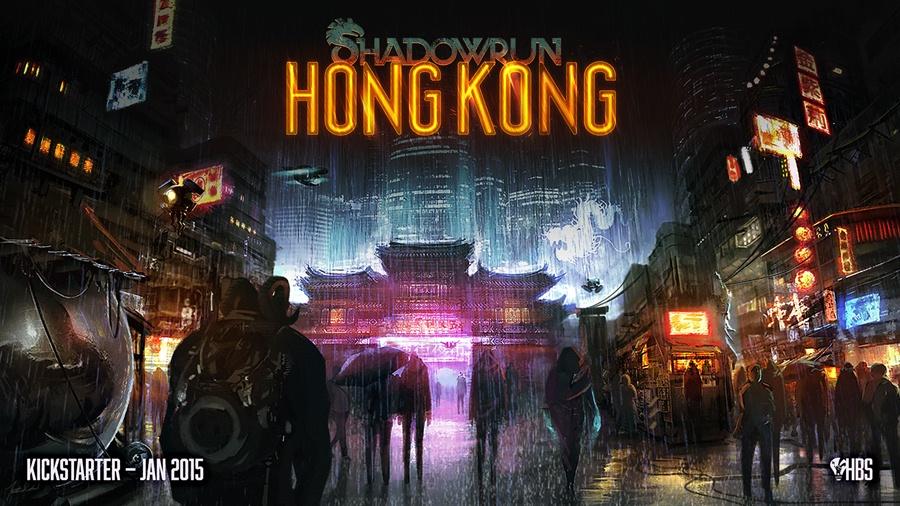 Shadowrun Hong Kong Download Poster