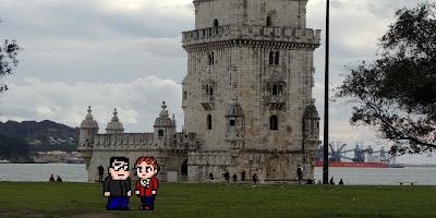 Casal Geek Eurotour 2013 - Descobrindo Lisboa - Padrão dos Descobrimentos / Torre de Belém