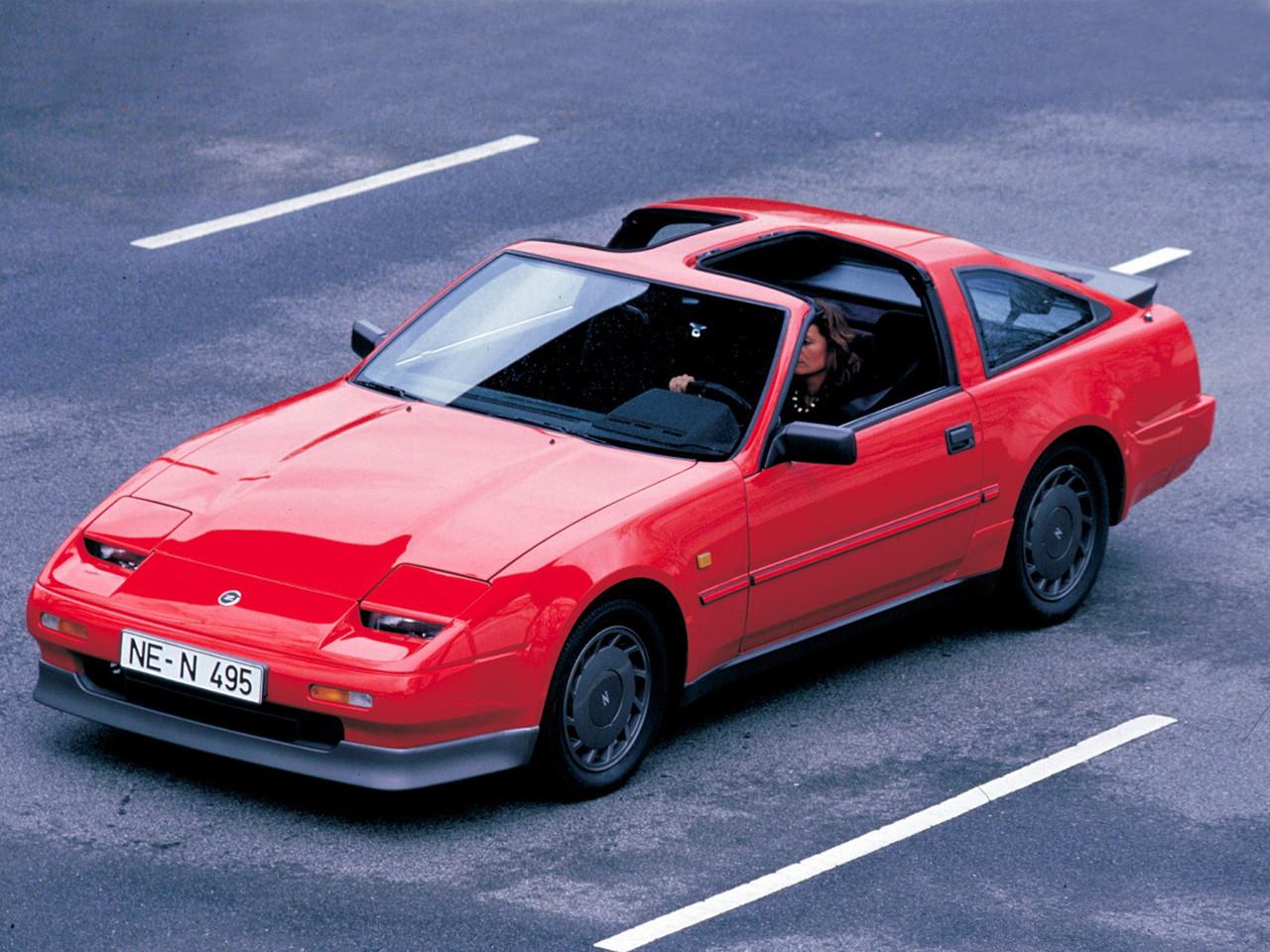 日本車, 日産, クラシックカー, Nissan 300ZX Z31 Fairlady Z, stary japoński samochód, youngtimer, JDM, sportowy, zdjęcia, fotki, t-bar dach