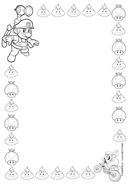 Borda Pedagógica Super Mário