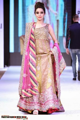 Dubai Bridal Fashion Show 2014 Pakistan fashion week Dubai