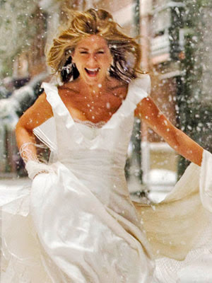 Jennifer Aniston Wedding Dress
