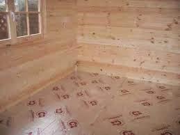 Cabin Creations Insulating A Log Cabin