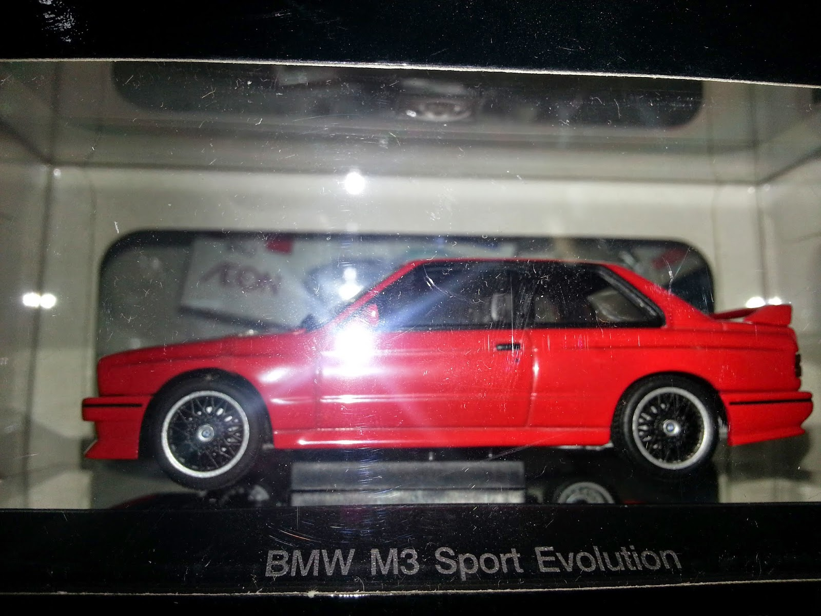 BMW M3 SPORT EVOLUTION DIECAST