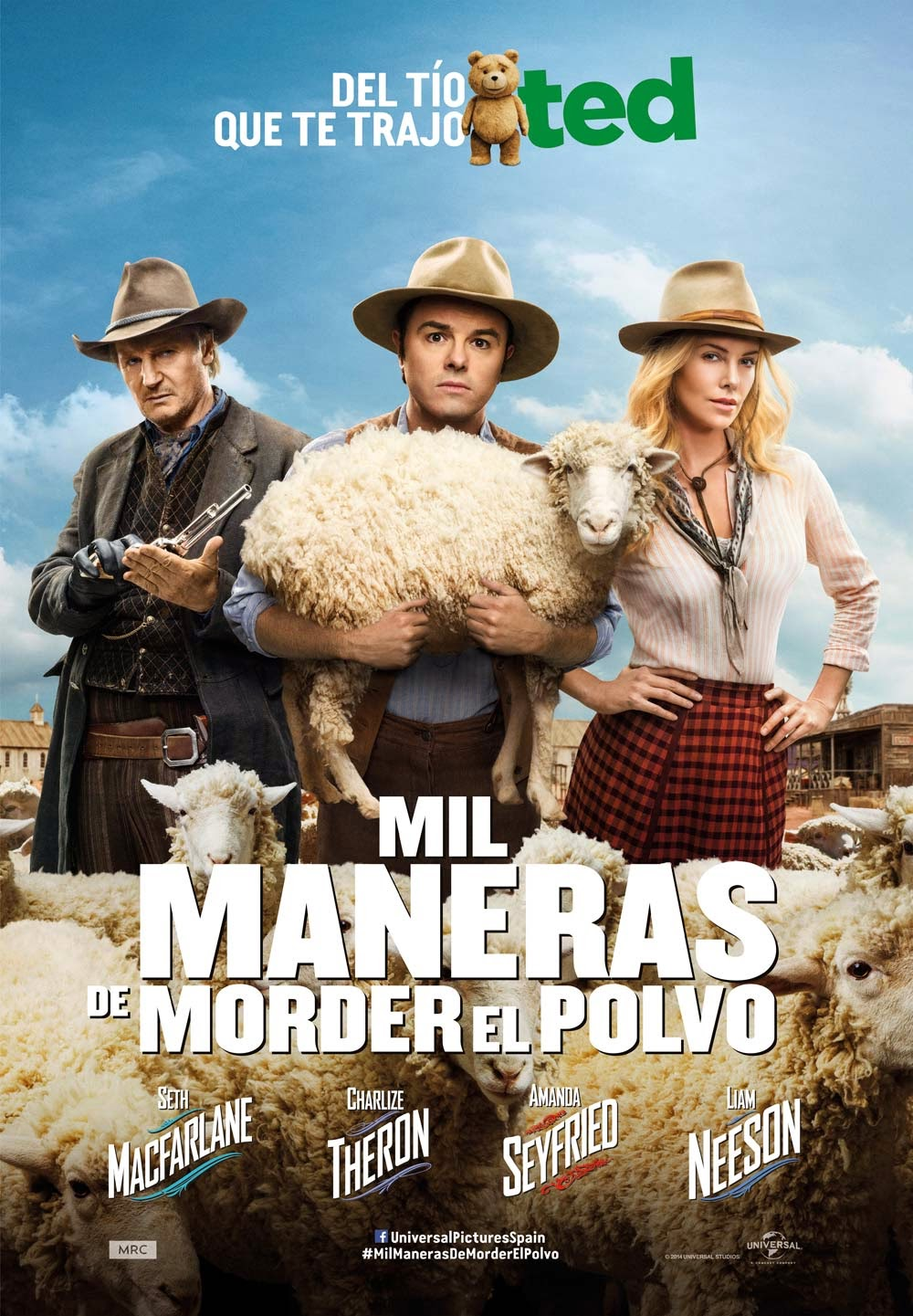 Mil maneras de morder el polvo (A Million Ways to Die in the West)
