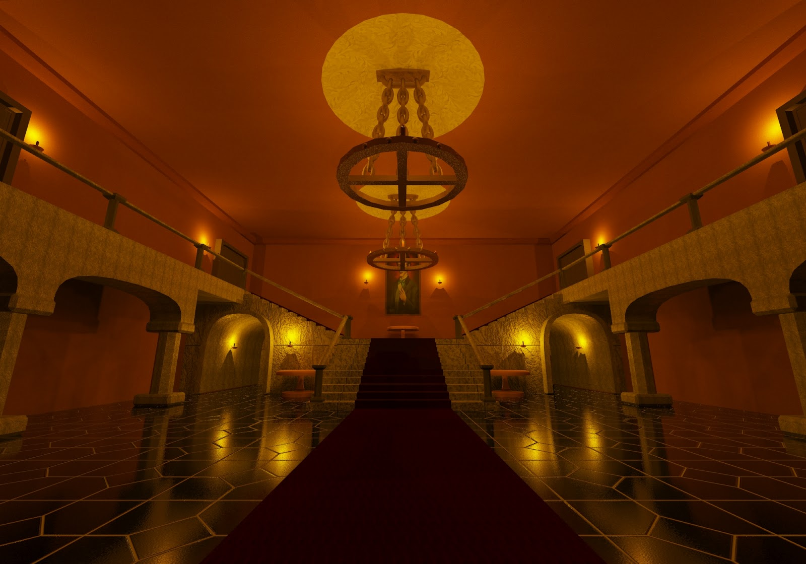 Haunted Mansion Foyer : Vijay reith s qca