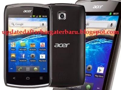 Harga Ponsel Acer November 2014