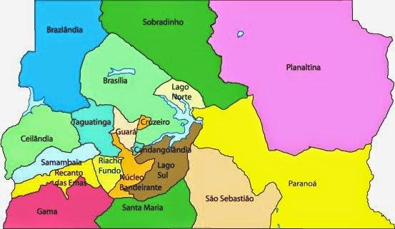 Regiões do DF