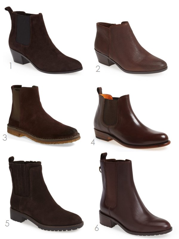 ankle flat brown boots | Ridgely's Radar