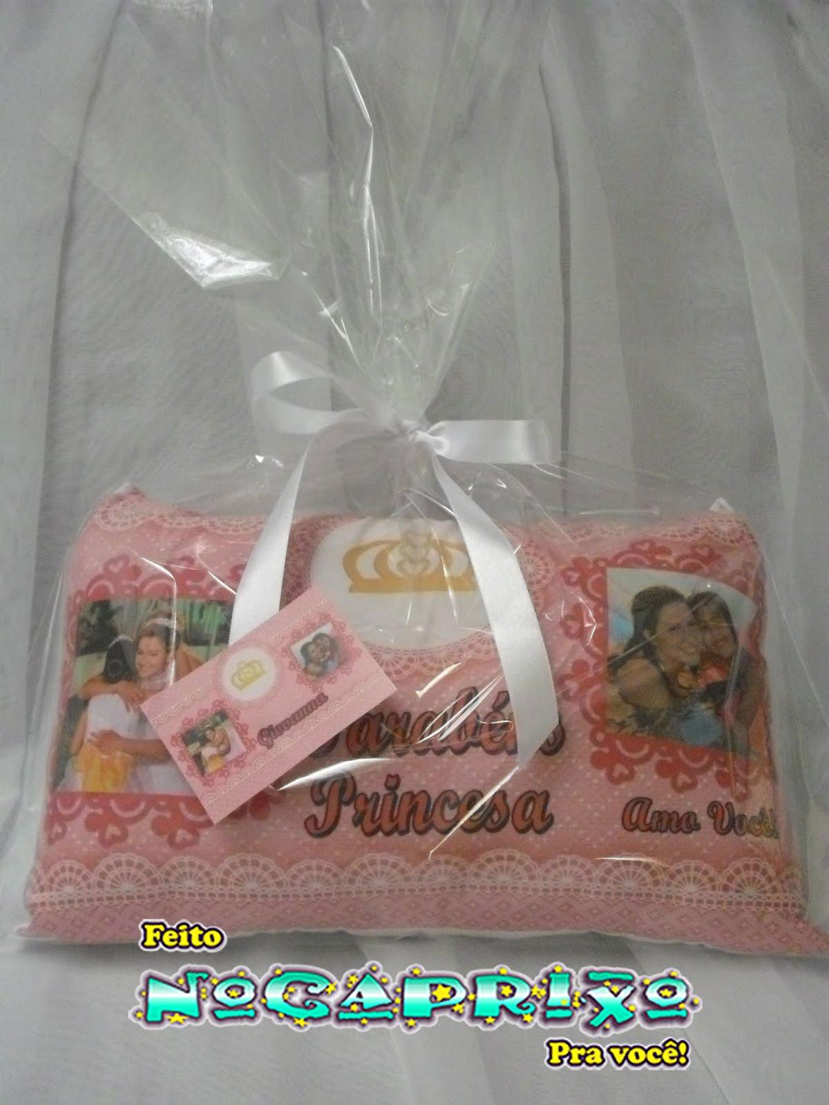 Mini-Travesseiro Personalizado