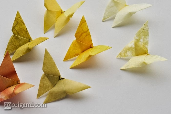 cara membuat origami kupukupu cantik dan lucu tutorial