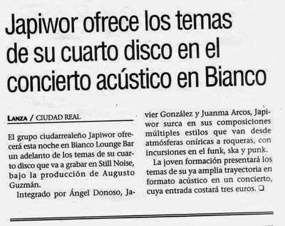 29/03/2007 DIARIO LANZA Ciudad Real