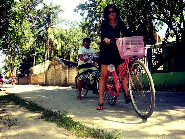 Biking in Bantayan Island