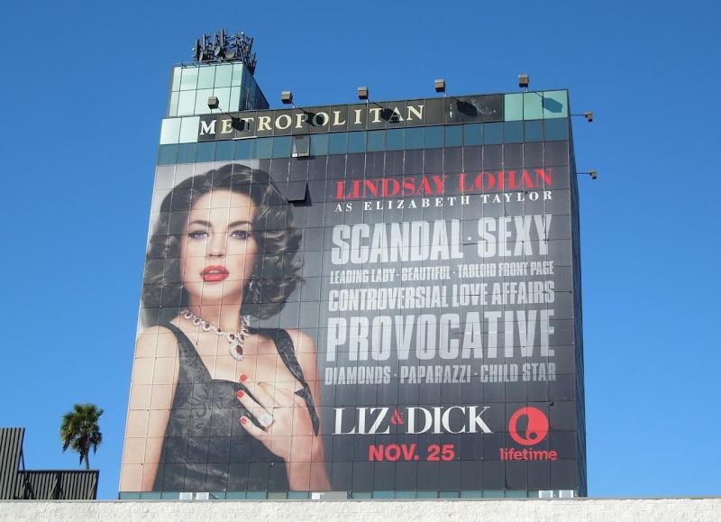 Giant Liz Dick billboard Metropolitan Hotel