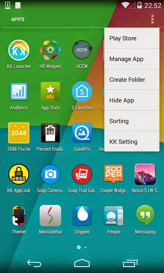 KK Launcher Prime (KitKat Launcher) v4.5