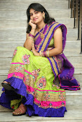 Krishnaveni glam in half saree-thumbnail-2