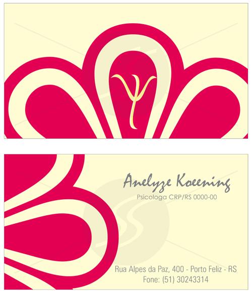 cartoes de visita psicologia ideiais - Cartões de Visita para Psicólogos