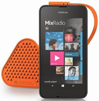 Nokia Lumia 530 Dual SIM Dengan MixRadio