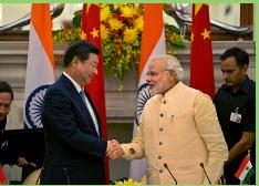 China se compromete a invertir 20.000 millones de dólares en la India