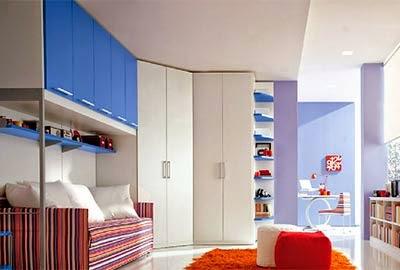 Nội thất phong cách hiện đại cho phòng ngủ của bé (2)