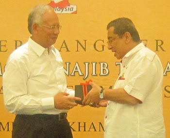 A wrist watch from YAB PM Najib