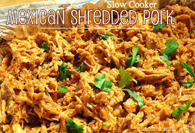 Slow Cooker Mexican Shredded Pork