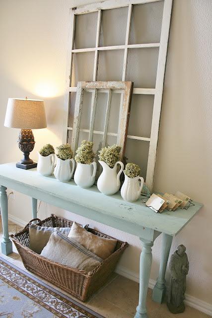 DIY Home Decor - Love these farmhouse decor ideas at the36thavenue.com...So much inspiration!