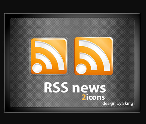 rss news icons 100+ Amazing Free RSS Feed Icons Set Download