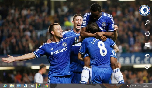 2013 2014 Chelsea Fc Theme For Windows 7 And 8 8.1