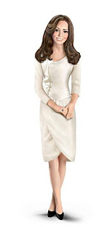 Kate Middleton wearing cream engagement dress