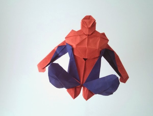 Origami Spiderman
