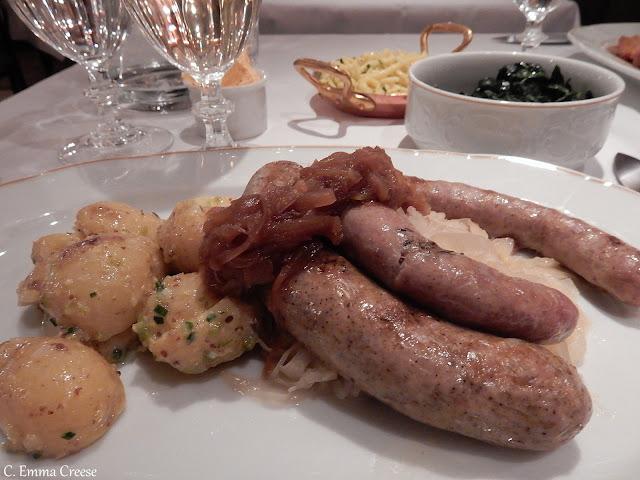 Fischers Marylebone Restaurant Review a taste of Vienna