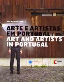 """Alexandre Melo, """"Arte e Artistas em Portugal"""". Capa do livro."""