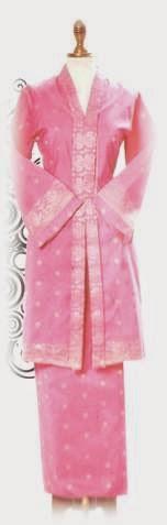 Foto Model Baju Kebaya Labuh Songket