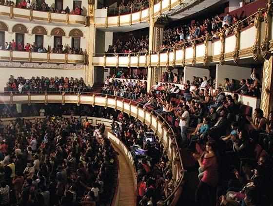 Programación de Agosto 2014 en el Sistema de Teatros de la ciudad
