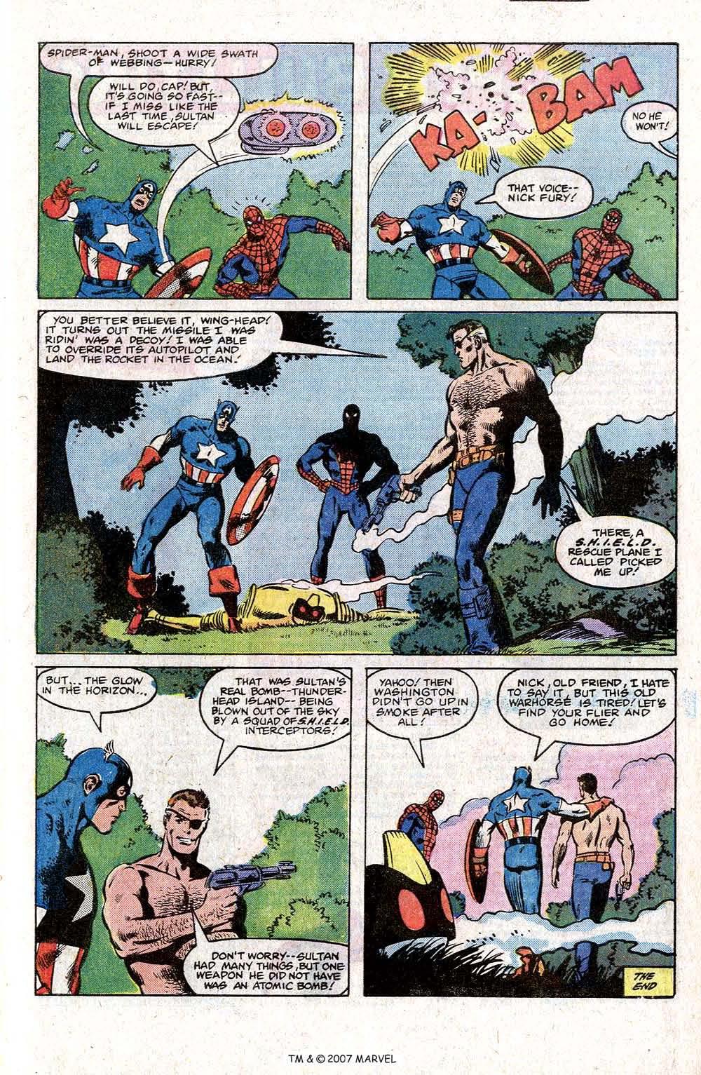 Captain America (1968) Issue #266 #181 - English 29
